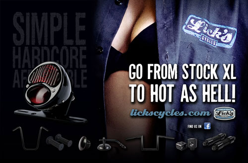Licks Cycles - New Ad Campaign